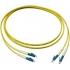 AMP/TYCO 0-6536501-2  Fiber cord w/ LC LC Single-mode Duplex 2m