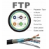 Cable SFTP  CU 0.5mm  w/ cat5e black