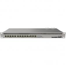Mikrotik RB1100AHx4 Powerful 1U rackmount router with 13x Gigabit Ethernet ports