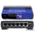 Cisco-Linksys EFAH05W HUB w/ Unmanaged 5 port Fast Ethernet IEEE 802.3 IEEE 802.3u Desktop
