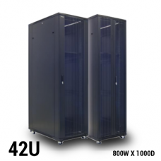 Toten GD.8042 Rack 42U W800 D1000 H2055 black w/