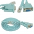 Cisco Console cable RJ45 DB9 w/ Blue