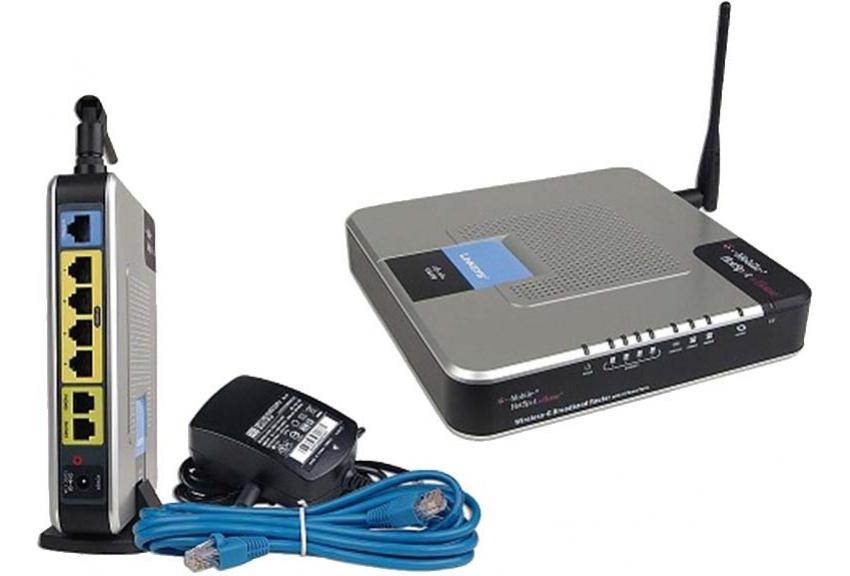 Cisco-Linksys WRTU54G-TM Router T-Mobile Hot Spot Home 2